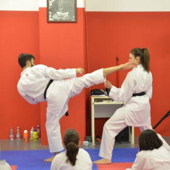 Le nostre classi di karate oltre i 12 anni