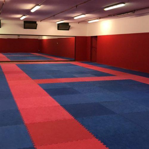 la nostra sala di karate